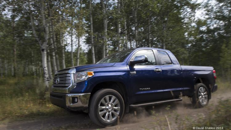 File photo of the 2014 Toyota Tundra, built in San Antonio. The company sold 11,589 Tundra trucks in March.