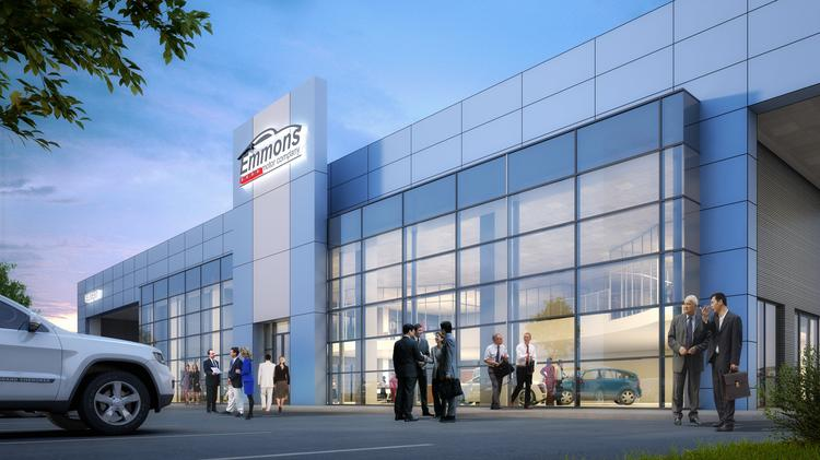 Emmons motor co to open new dealership near clear lake for Motor city car dealership