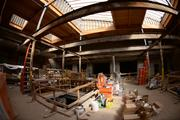 Paint and clay studios will occupy this space.