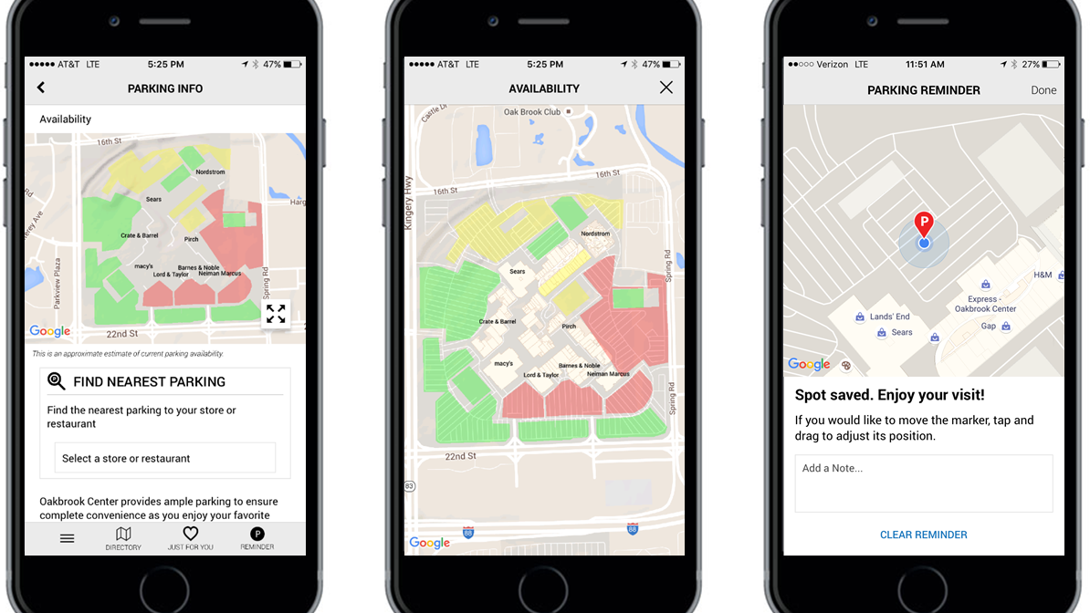 General Growth Properties Rolls Out Mall Parking App At Houston S Baybrook Willowbrook Deerbrook First Colony The Woodlands Mall Houston Business Journal