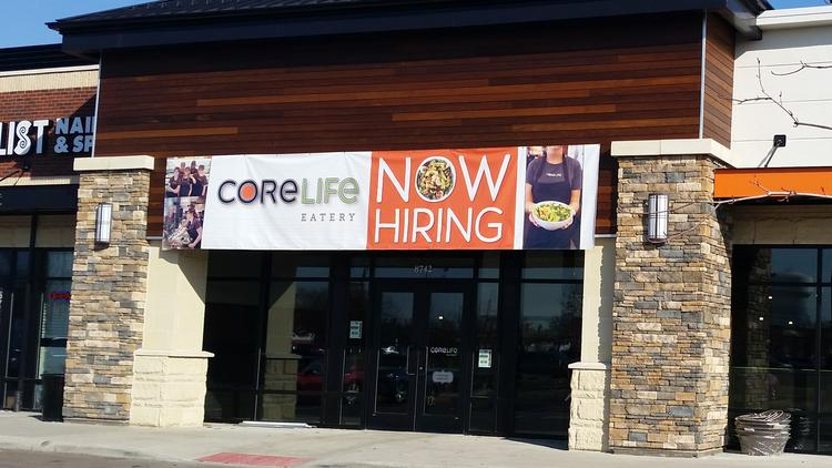 Corelife Eatery S First Central Ohio Restaurant Is At 8742 Sancus Blvd Across From Polaris Fashion