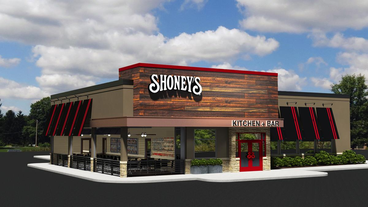 Fast Food Building Designs Prepossessing Nashvillebased Shoney's Unveils New Restaurant Design  Nashville . Inspiration