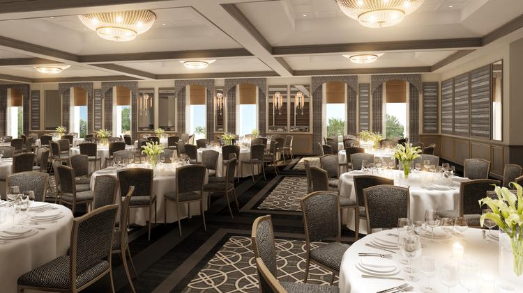 A Render Of The Rittenhouse Hotel S Ballroom After Renovation