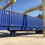 Check out Jacksonville's first container... for breakbulk