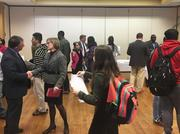 Six technology startups housed at the BizLab pitched internship and job opportunities to SCCC students on Monday.