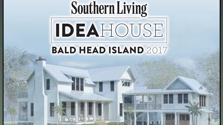 A Rendering Of Southern Livingu0027s 2017 Idea House, Bald Head Island, ...