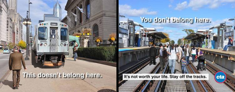 The Chicago Transit Authority is launching a safety-focused ad campaign this week.