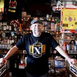 Pug life: Tony Tomelden's bar may be a nod to boxing, but he's not one to pick a fight