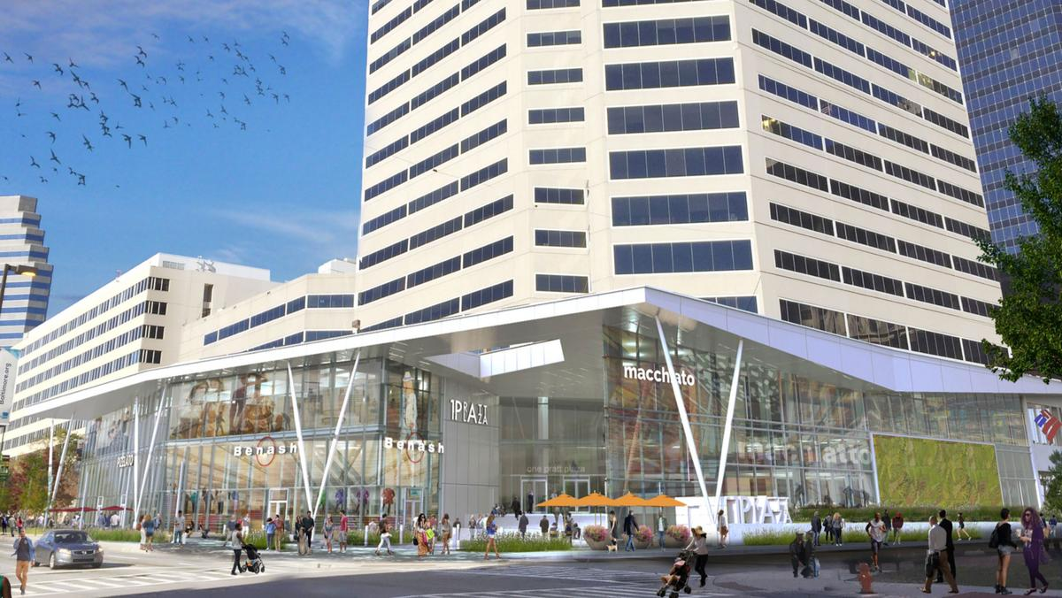 100 s charles st owner plans retail build out refreshed lobby new co working space baltimore business journal