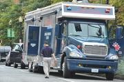 Department of Homeland Security and Emergency Management Agency sent its Mobile Command Center