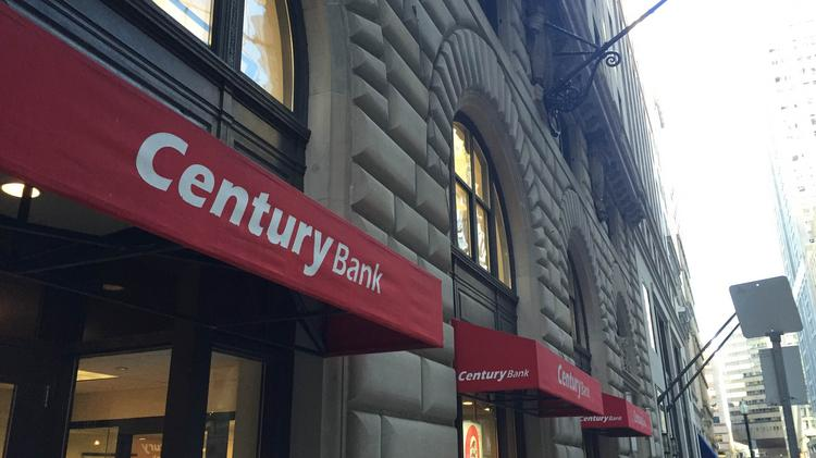 Century Bank's branch in Boston's Financial District.