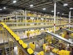 A peek inside an Amazon fulfillment center