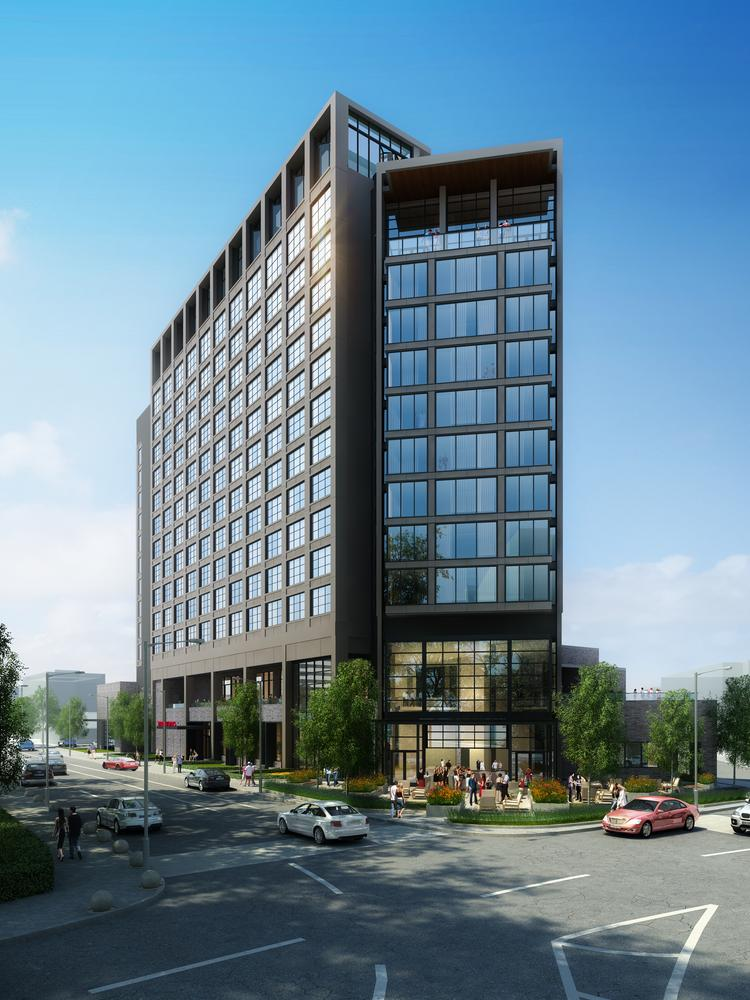 This Rendering Shows The Newest Design For Proposed Virgin Hotel On Nashville S Music Row