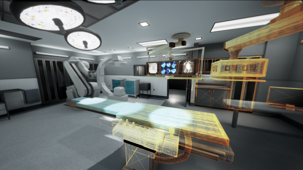 Architects use vr to let providers troubleshoot hospital for 3d virtual room designer