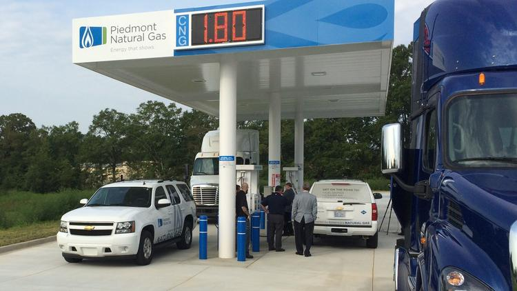 Natural Gas Stations >> Piedmont Natural Gas Building More Vehicle Fueling Stations