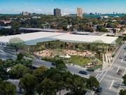Plans for the Magic City district in Miami's Little Haiti would include entertainment space.
