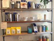 Like many other chain coffee stores, Caffe Luxxe has a selection of non-coffee gifts.