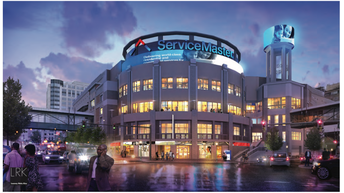 servicemaster asks   exception   downtown sign code memphis business journal