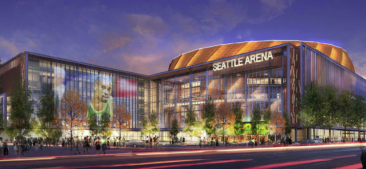 Seattle Arena Drawings 360 Architecture Rendering