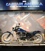 Captain America to ride Harley-Davidson Breakout in 'Winter Soldier'