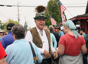 "Retired Army Colonel Jerry Lauzon served on the Mt. Angel Oktoberfest board for over 20 years, earning the title ""Mr. Oktoberfest."""