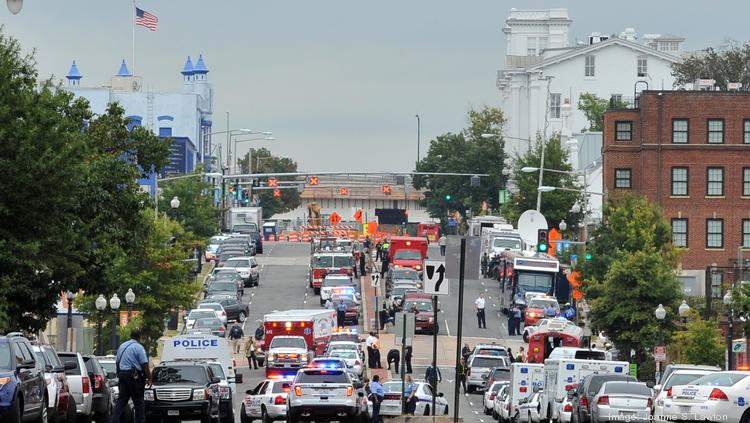 Department of Defense reviews conclude the Navy Yard shooting rampage by Aaron Alexis that killed 12 people last September was preventable. Security procedures will be tightened as a result.