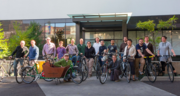 About 90 percent of Jive Software's team from last year is participating in this year's Bike Commute Challenge. This year, 52 workers are riding their bikes into work through the month of September.
