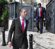 Eric Trump departs after running the bid up to $41 million, the second highest bid after the Nashashes $41.5 million.