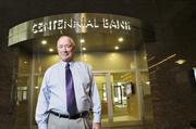 Winner - Accounting, banking & finance Jim Basey, president and CEO of Centennial Bank.
