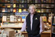Neil Van Uum is the owner of Booksellers on Fountain Square. He also founded Joseph Beth Booksellers.