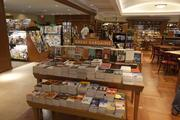 The 7,000-square-foot store sells a variety of books and magazines, as well as movies, music and other items.