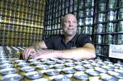 Dale Katechis, founder of Oskar Blues Brewery in Longmont. Photo by KathleenLavine 6/12