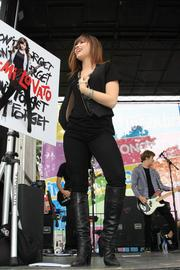 Like this year's headliner, Ariana Grande, Demi Lovato started out in Nickelodeon before starting a successful music career. She headlined in 2008.