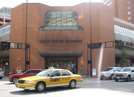 The future of downtown Cincinnati's Saks Fifth Avenue store is in question.