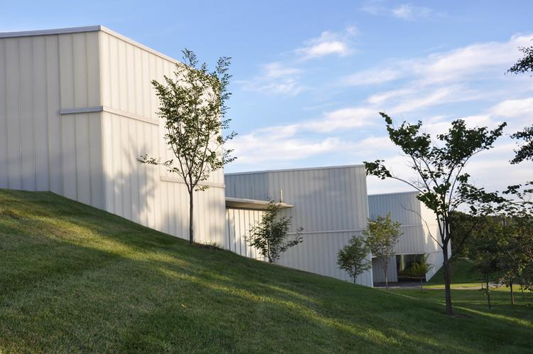 DRAW Architecture + Urban Design Principals Dominique Davison and Ryan Warman selected the Bloch Building at the Nelson-Atkins Museum of Art at 45th Street and Rockhill Road, just east of Kansas City's Country Club Plaza, as their favorite building in Kansas City.