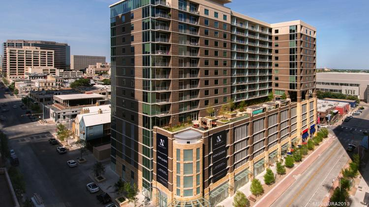 The 16 Story Whitley Apartment Tower At 301 Brazos St. Sold Recently To A