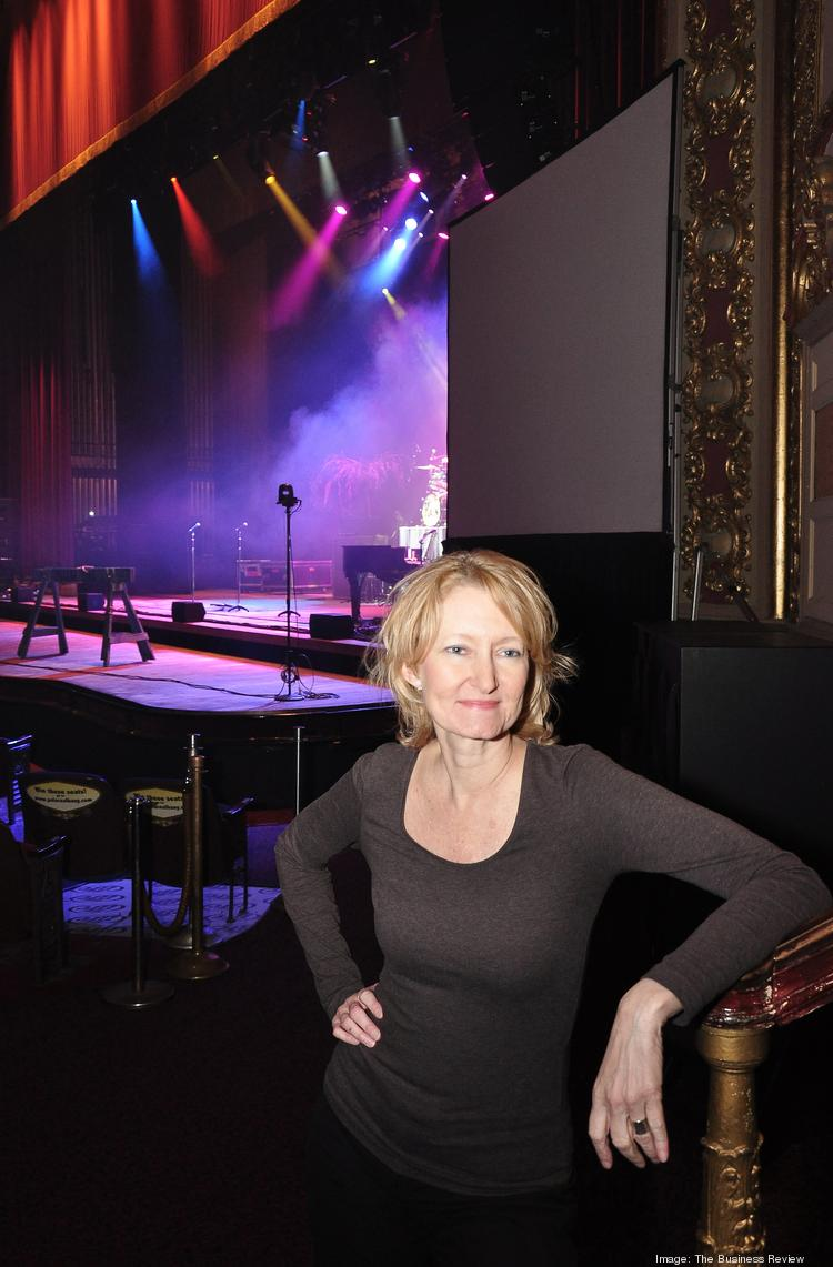 Holly Brown, executive director of the Palace Theatre in Albany, NY, said the nonprofit will invest $70,000 to buy a digital projector.