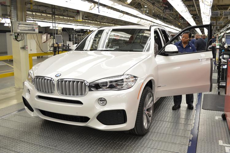 "The 2.5 millionth BMW to be made in the S.C. plant has ""terra Dakota"" colored leather in it."