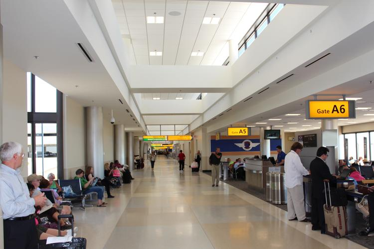 Port Columbus has opened the renovated Concourse A, where Southwest and AirTran fly from.
