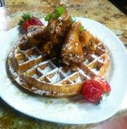 And wings and waffles.