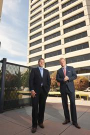 Winner, Office Lease in San Francisco: J.D. Lumpkin, left, and Zach Siegel, both of Cushman & Wakefield, represented Square Inc. in its lease with Hudson Pacific Properties for 327,000 square feet at 1455 Market St.