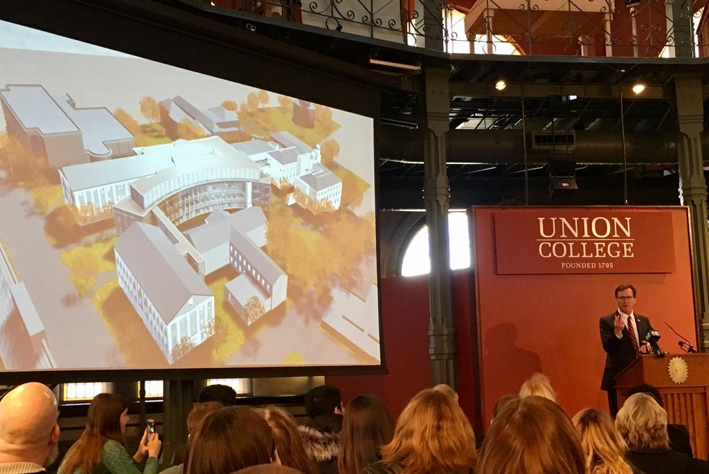 President of Union College Announces Construction Project