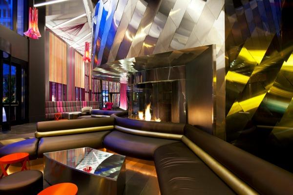 The Living Room in the W Seattle hotel was named the best designed bar in the Americas in the International Restaurant and Bar Design Awards.
