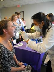 No. 4 (Companies 5,000+): Fairfax-based SRA International conducts annual health fairs every September and October. These events include a variety of wellness and benefits vendors in order to inform employees about the tools and resources available to make healthy choices.