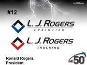 Mebane-based L.J. Rogers provides transportation services including regional and long-haul trucking as well as freight brokerage. The company did not publicly disclose its 2012 revenue.