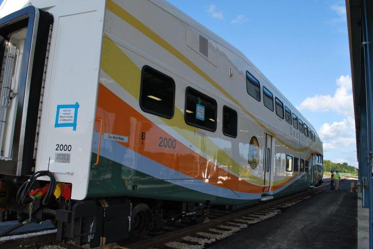 SunRail will start running on May 1, 2014.