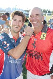 Two polo players from last year's event.