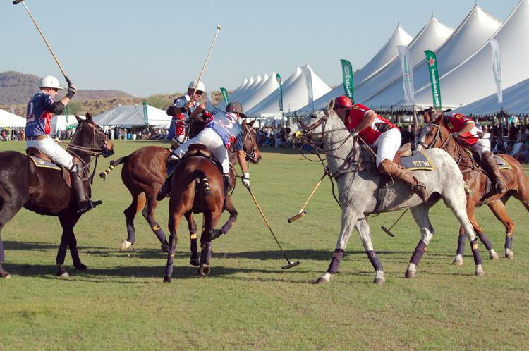 A photo from last year's polo event in Scottsdale.
