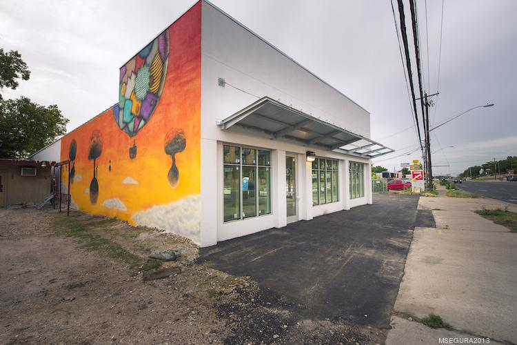 Binswanger Glass will relocate its South Austin store to 3804 S. Congress Ave., where it will have a creative addition to its more traditional storefront.
