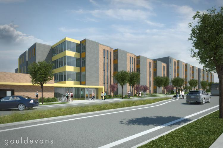 Construction is underway on a $30.3 million student housing project in Beacon Hill for the University of Missouri-Kansas City's Hospital Hill campus, a major development for the blighted neighborhood in Kansas City's East Side.